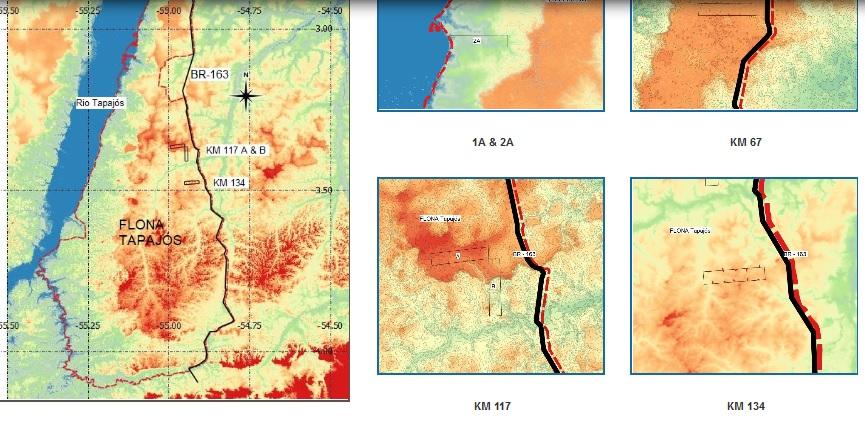 Link to Tapajos maps